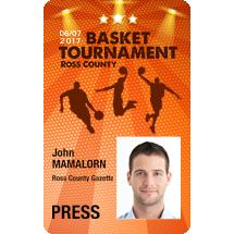Basketball Player ID Cards