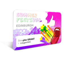 Event Plastic ID Cards