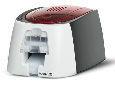 Badgy200 Plastcis card printer